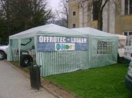 Stánek naší firmy na Offroad Tisovec 2009 :: Offroad Tisovec 2009_4