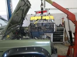 Generální oprava motoru 242 :: GO motoru  XJ_33